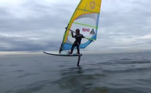 Wind Foil Exercise