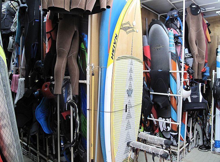 Wind用室内艇庫